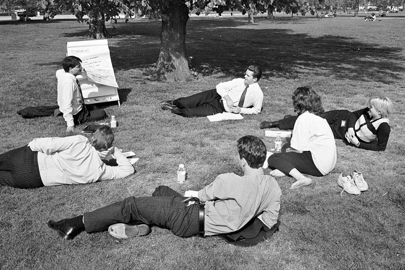 Boardmeeting, Hyde Park, London