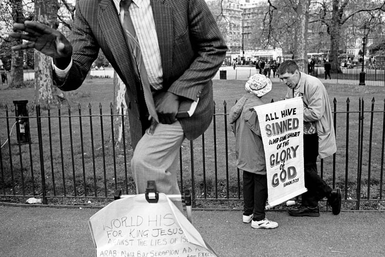 Speakers Corner, Hyde Park, London