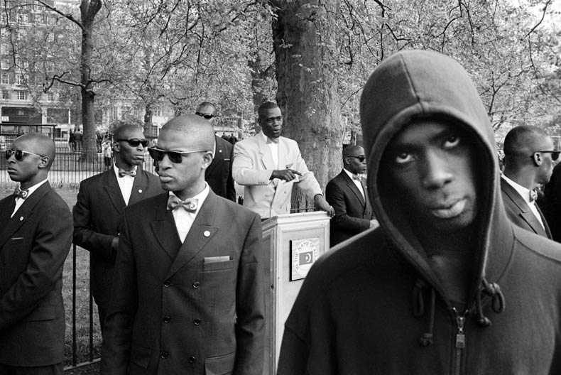 Black Muslims, Speakers Corner, Hyde Park, London